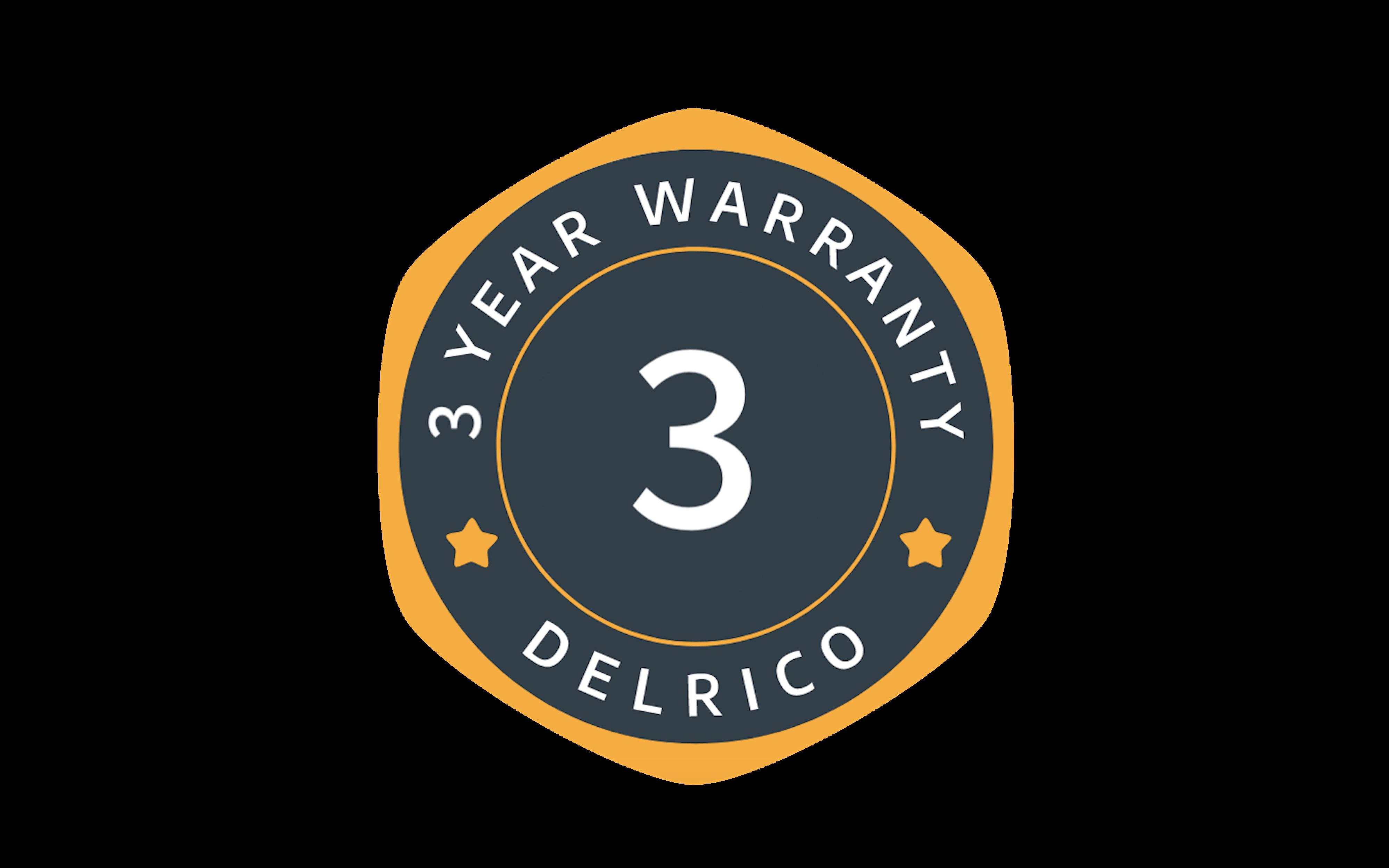 2 year delrico warranty